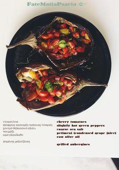 Steamy grilled eggplants with jalapeño sweet salad on top! #vegetarian #vegan #dairyfree #glutenfree