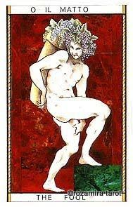 O. The Fool - Tarocco Mitologico by Amerigo Folchi .