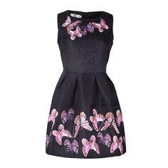 Vintage women dress Fashion sleeveless print //Price: $15.99 & FREE Shipping //     #hashtag3
