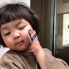 Cute Baby Meme, Cute Funny Babies, Cute Baby Cats, Baby Memes, Cute Little Baby, Cute Kids, Cute Asian Babies, Korean Babies, Asian Kids