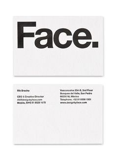 Face — Design by Face.