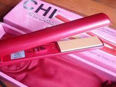 Just girly things.CHI is the only one that works and makes my hair stay straight (I have curly and thick hair) Little Things, Girly Things, Girly Stuff, Pink Stuff, Random Things, Chi Hair Straightener, Hair Straightening, Chi Hair Products, Beauty Products