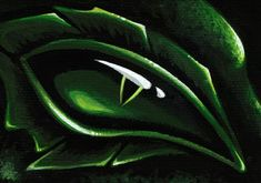 Painting - Eye Of The Emerald Green Dragon by Elaina Wagner , Dragon Eye, Green Dragon, Canvas Prints, Framed Prints, Fantasy Artwork, Art Pages, Emerald Green, Mystic, Plant Leaves
