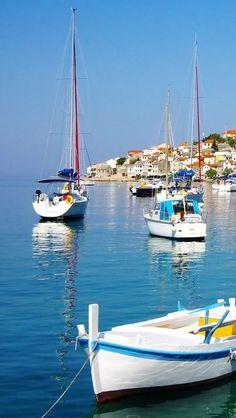 Boats in Primosten (Adriatic Coast), Croatia