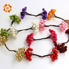 2015 1cm 20pcs/lot Mini artificial Berries Bouquet flower Stamen for home Garden wedding Car corsage decoration crafts flower   USD 0.92/lotUSD 1.86/lotUSD 0.95/lotUSD 1.50/lotUSD 0.88/lotUSD 1.25/lotUSD 2.50/lotUSD 2.25/lot  2015 1cm 20pcs/lot Mini artificial Berries Bouquet flower Stamen for home Garden wedding Car corsage decoration crafts flower  Material: Iron Wire and Plastic  Size: 1x 1 cm (1cm=0.39 inch)  Package ...    US $0.63…