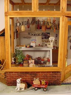 Deluca's Deli 1:12 Scale Dollhouse Miniature | Flickr - Photo Sharing!