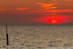Red sun, Stavoren (Friesland)  Photo © Maurice Hertog Fotografie