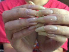 Natural Nails, Long Nails, Beautiful, Cute Nails, Natural Looking Nails, Natural Color Nails