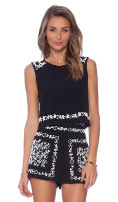 Revolve Clothing~ Tularosa x Revolve Leah Shell in Black