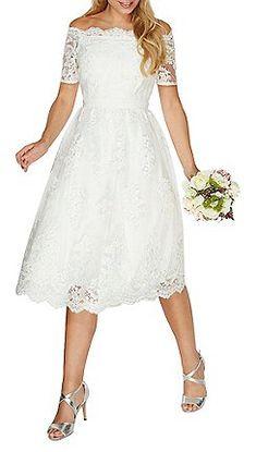 Dorothy Perkins - **ivory 'bella' wedding dress