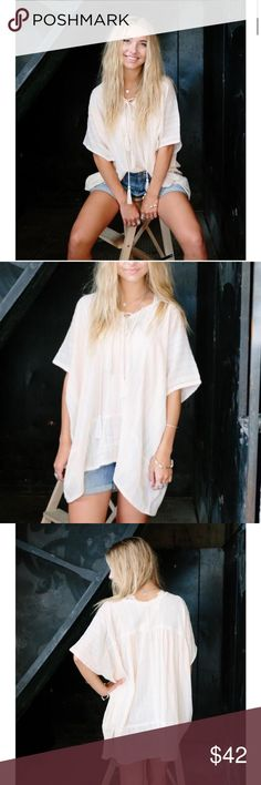 NWT Poncho Tunic Anthropologie Boho Boho Chic. Anthropologie. Tags: Nordstrom Free People LF Rag & Bone Urban Outfitters. Tunic length Anthropologie Tops