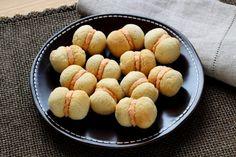 Recette - Baisers de dames au parmesan - Baci di Dama | 750g