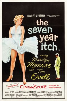 The Seven Year Itch | US movie poster, 1955