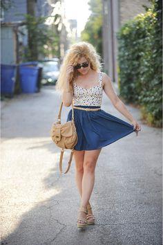 Badgley-mischka-purse-bustier-bodysuit-american-apparel-skirt