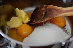 Inghetata de casa cu vanilie si zmeura - Rețete Papa Bun Panna Cotta, Eggs, Breakfast, Ethnic Recipes, Cakes, Food, Recipes, Dulce De Leche, Meal