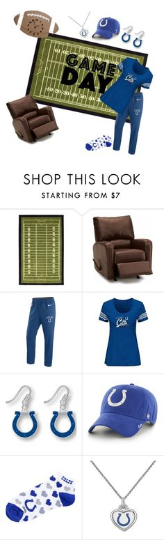 """Untitled #31"" by amanda-pixley-sanchez ❤ liked on Polyvore featuring Palliser, NIKE, aminco, '47 Brand and For Bare Feet"