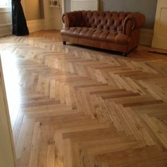 Elegance Herringbone Oak 18mm Engineered Wood Flooring