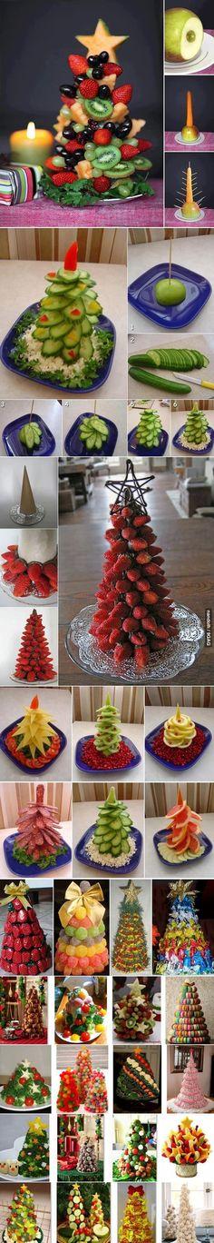 Keeppy :: Edible Bouquets -- A New Art from the Old Class!! Den Gurkenbaum gibt's zum Abendbrot.