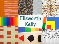 Beeldende vorming - Ellsworth Kelly Ellsworth Kelly, Importance Of Art Education, Woodland Party, Art School, Great Artists, Art Lessons, Art For Kids, Cool Art, Art Projects