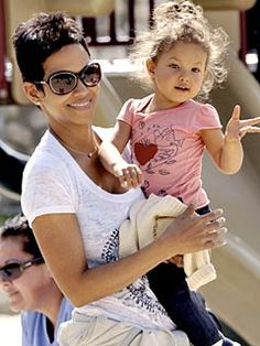 HALLE BERRY AND NAHLA