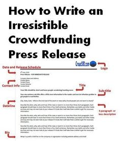 How to Write a Press Release for an Event