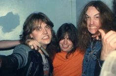 Gary Holt with Lars and Cliff                                                                                                                                                                                 More