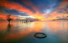 Sunset at Kuala Kedah,Malaysia.  My Home town