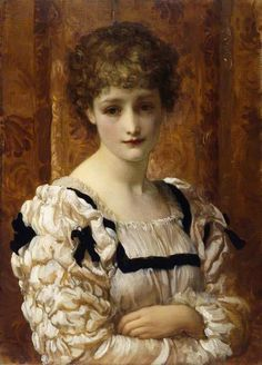 Bianca = Lord Frederic Leighton (1830-1896), was one of the most famous British artists of the nineteenth century.