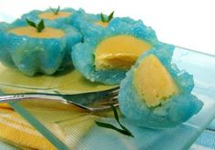 Malay Kuih with durian filling