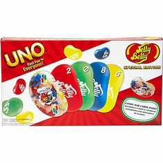 Jelly Belly Uno game - novelty - gifts - women