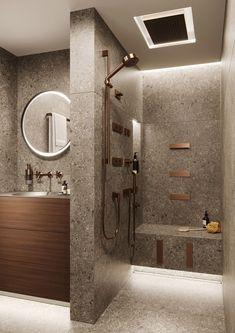 en suite bathroom interior design #BathroomInteriorDesignrustic
