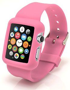 Apple Watch 38mm Silicone Case. Protective yet Pliable. Many Colors to Choose From.