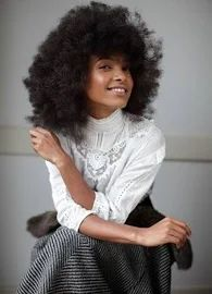 """Esperanza Spalding Poster 24"""" x 32"""" - Esperanza Spalding Print - Esperanza Spalding Home Room Decor Esperanza Spalding, Haircut Styles For Women, Iconic Women, Pretty Pictures, Pretty People, Curly Hair Styles, Fashion Beauty, Hair Makeup, Hair Cuts"""
