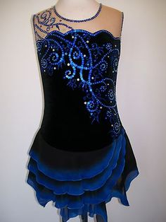 CUSTOM MADE TO FIT ICE SKATING BATON.TWIRLING DRESS on eBay!