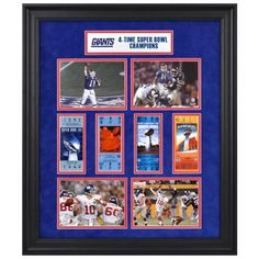 New York Giants Fanatics Authentic Framed Super Bowl Ticket Collage-Limited Edition of 1000 - $149.99