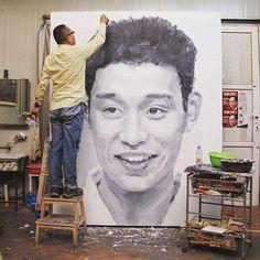 artist Xu Weixin (b1958, Urumqi, Xinijiang Proovince, China)