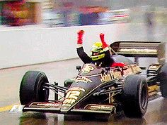 Ayrton Senna | Portuguese GP 1985. His first victory in Formula one