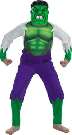 Child Hulk Costume Medium 78 u003eu003eu003e Check this awesome product by going to the link at the image.  sc 1 st  Pinterest & The 31 best Boys Costumes SUPERHEROES u0026 VILLAINS images on Pinterest ...
