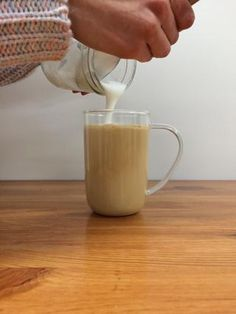 An easy step-by-step guide to make delicious tea lattes at home. (try adding two tablespoons of honey)