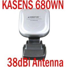 KASENS 680WN Wireless USB 150Mbps Adapter 38dBi Antenna,Card Wallet flower diamond shoulder bag case For SamSung i9300 N7100 Iphone 5