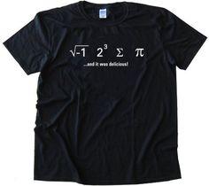 I ATE SUM PI - AND IT WAS DELICIOUS - MATH NERD - Tee Shirt Gildan Softstyle Black (Small) Gildan,http://www.amazon.com/dp/B008QAE714/ref=cm_sw_r_pi_dp_X.PZqb06NTQPB8WS