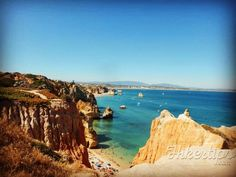 Portugal is famous for its breathtaking beaches which are a real source of delight and positive energy. In my opinion one of the most beautiful beaches in Portugal is Praia do Camilo… Most Beautiful Beaches, Beach Fun, Heaven, Amazing, Water, Outdoor, The Beach, Gripe Water, Outdoors