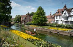 Výlet do Canterbury Canterbury, Instagram