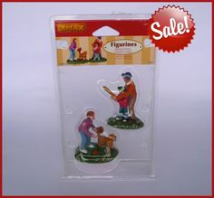 Lemax Village Harvest Crossing Batting Practice Set of 2 Figurines 728162028235