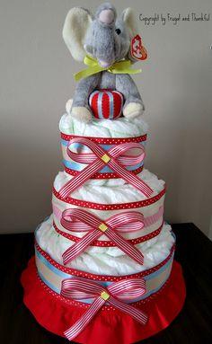 cutest nappy cake!