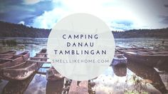 camping di danau tamblingan