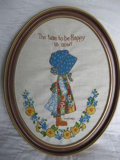 Vintage Holly Hobbie- LOVING!