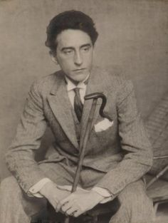 Portrait of Jean Cocteau by Man Ray, 1924 Man Ray, Jean Cocteau, Hermann Hesse, Writers And Poets, Book Writer, Playwright, High Society, In This World, Books