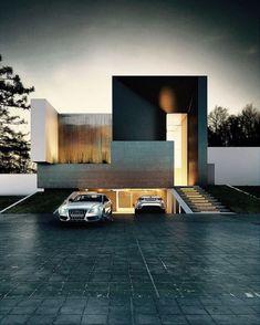 Underground Parking Garage #LuxuryGarages