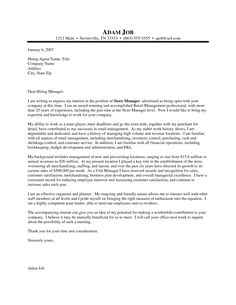 Samples Of General Cover Letter For Resume Samples Of General